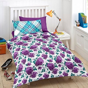 Cotton Single Bed Sheet with 1 Pillow Cover