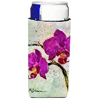 Caroline 's Treasures mm6049-parent花 – Orchid Ultra Beverage Insulators forスリム缶mm6049muk、、マルチカラー...