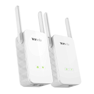TENDA PH15 AV1000 Wi-Fi Powerline Extender Kit●ホームユースに最適 1000Mbps Powerline adapter PA3 + 1000Mbps...