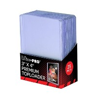 "Ultra Pro 3 "" x 4 ""スーパークリアプレミアムToploader 25 ct 2 - Pack"
