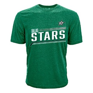 NHL Dallas Stars Jamie BennメンズアイシングName & Number Tee、XXL、ライダーグリーン