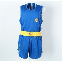 Wesing三田Suit Kung Fuボクシング格闘技MMAベストShorts Clothes