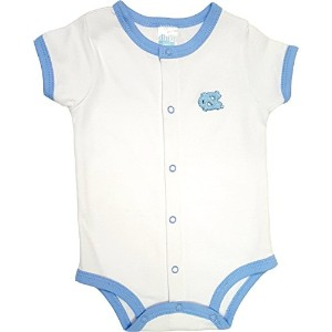 North Carolina TarヒールUNC Baby Onesieロンパース