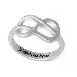 Celtic Promise Ring to infinity and beyond、infinity loveリングwith Celtic Knotサイズ6 – 9カップルジュエリー