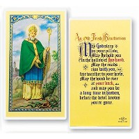 ST Saint PATRICK Breastplate保護Prayer HolyカードBlessed by his Holiness Pope Francis