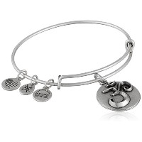 Alex and Ani om III Expandable Rafaelianバングルブレスレット One Size
