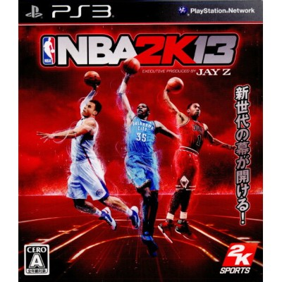 【中古】[PS3]NBA 2K13 EXECUTIVE PRODUCED BY JAY Z(20121101)