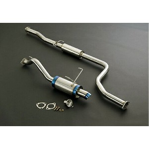 J's RACING R304 SUS EXHAUST SYSTEM ホンダ シビック 5MT EK4用 60RS(R304-H4-60RS)【マフラー】ジェイズ レーシング R304 ステンレス...