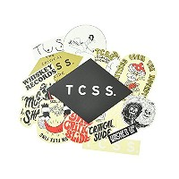 TCSS ティーシーエスエス TCSS 2017 STICKER PACK ASTICK17