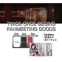 TWICE(トゥワイス)[ フォトカードセット POST CARD SET (typeA:WHITE) ] TWICE ONCE BEGINS FANMEETING GOODS ファンミーティング公式...
