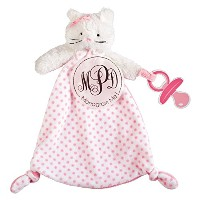 MUD PIE CAT MONOGRAMMABLE PACY CUDDLER by Mud Pie