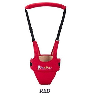 Baby Harness Child Safety Learning Walking Assistant Kids Keeper (Red) by Bestbaby