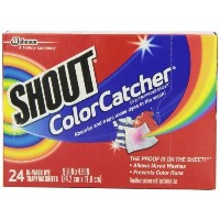 Shout Color Catcher Dye-trapping Washing Sheets, 24 count - PACK OF 4 by Shout [並行輸入品]