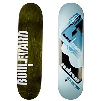 Blvd Skateboards One Off LeBron Deck, 8.125-Inch by Blvd Skateboards