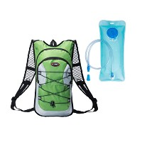 Zhhlaixing Lightweight 屋外 Backpack Cycling Hydration Pack Bladder Bag Water Rucksack バックパック