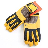 GREEN CLOTHING グリーンクロージング WORK GLOVE BLOWN LETHER ワークグローブ ブラウンレザー