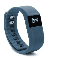 BLUEWEIGH Bluetooth 4.0 Fitness Activity Tracker, Wireless Activity Wristband - Pedometer ... (GRAY...