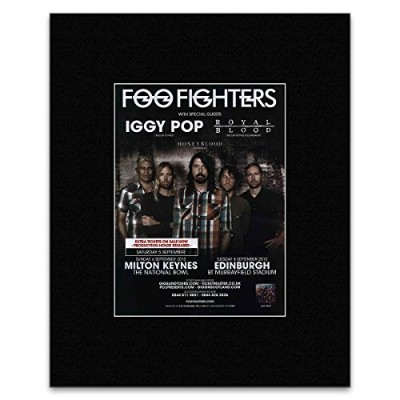 FOO FIGHTERS - Extra Tickets Added 2015 UK Tour Mini Poster - 28x21cm