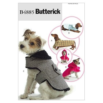 Butterick Patterns B4885 Dog Coats, All Sizes by BUTTERICK PATTERNS