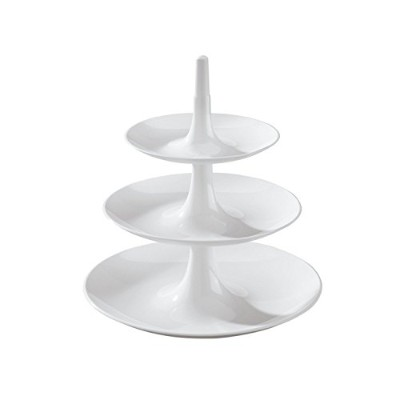 Koziol,Babell Extra Small 3181525, Indispensable White Tiered Tray, 7,8X7,8X8,66-Inch [並行輸入品]