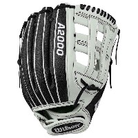 ウィルソン レディース 野球 グローブ【Wilson A2000 IF12 Superskin Fastpitch Glove】White/Black