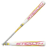 イーストン レディース 野球 バット【Easton Stealth Hyperlite Fastpitch Bat】White/Grey/Pink