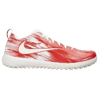 ナイキ メンズ ラクロス シューズ・靴【Nike Vapor Varsity Low Turf LAX】White/White/University Red/University Red