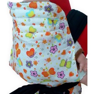 MEI TAI Baby Sling Carrier : Butterfly and Flower by Enjoybaby