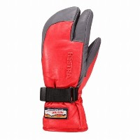 HESTRA(ヘストラ) 3-FINGER GTX FULL LEATHER 3388 Red/Grey(560350) 8