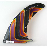 "Rainbow Fin ロングボード用センターフィン STAND GLASS FIN 「AZUL 9'0""」 #6542"