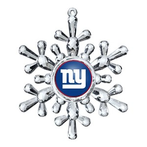 NFLニューヨークジャイアンツTraditional Snowflake Ornament