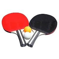 Hathaway Single Star Control Spin Table Tennis 2-Player Racket and Ball Set [並行輸入品]