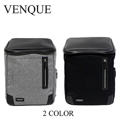 VENQUE (ヴェンク) バックパック リュックサック Amsterdam Backpack Black Edition - 2カラー展開 国内正規取扱店 1年間製品保証付き Black x...