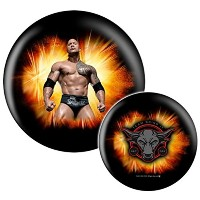 WWE WrestlemaniaスーパースターThe Rock Bowling ball- Limited Edition