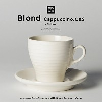 Design House Stockholm/BLOND ブロンド カプチーノカップ&ソーサー Designed by Reliefgruppen with Signe Persson-Melin