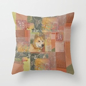 Dogs Cushion Covers 16 X 16 Inches / 40 By 40 Cm Best Choice For Gf,bar,saloon,outdoor,coffee House...
