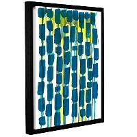 ArtWall Jan WeissのビーズカーテンギャラリーWrapped floater-framedキャンバス 14x18 0wei105a1418f