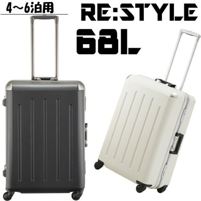 PLUS ONE RE:STYLE プラスワン・リ・スタイル スーツケース 382-62