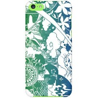 【送料無料】 kion 「dree green indigo」 / for iPhone 5c/SoftBank 【SECOND SKIN】【スマホケース】【ハードケース】iPhone5cカバー...