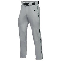 ナイキ メンズ 野球 ボトムス・パンツ【Nike Team Vapor Pro Pant Piped】Blue Grey/Dark Green/Dark Green