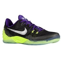 ナイキ メンズ バスケットボール シューズ・靴【Nike Kobe Venomenon 5】Black/Metallic Silver/Court Purple/Volt