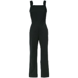 Andrea Marques - straight neck jumpsuit - women - コットン/スパンデックス - 36