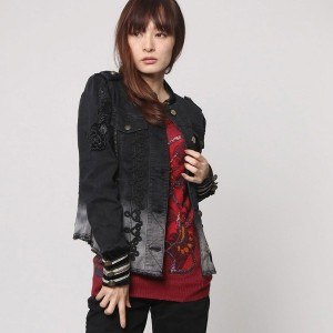 デシグアル Desigual CHAQ_NAVY (BLACK DENIM)