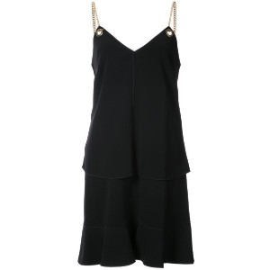 Derek Lam 10 Crosby - 2-In-1 Cami Dress With Flounce Skirt - women - ポリエステル/トリアセテート - 8