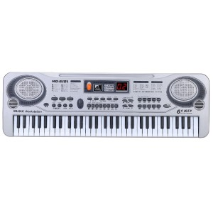 21 61 Keys LED Electronic Keyboard Music Toy with Microphone Educational Electone Christmas Gift...