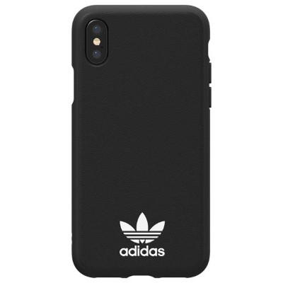 アディダス iPhone X用TPU moulded case adidas Originals Black/White 29191 [29191]
