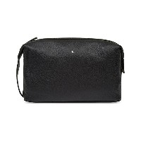 モンブラン メンズ ポーチ【meisterstuck soft grain leather wash bag】Black