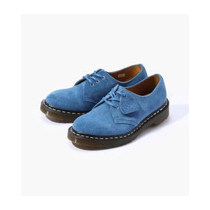 Dr.Martens MIE 1461 3 EYE SHOE SUEDE レースアップシューズ【トゥモローランド/TOMORROWLAND レディス その他(シューズ) 65 ブルー ルミネ...