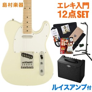 Squier by Fender Affinity Telecaster AWT(アークティックホワイト) エレキギター 初心者 セット ルイスアンプ テレキャスター 【スクワイヤー by...