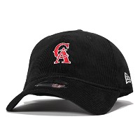 (ニューエラ) NEW ERA 9TWENTY MINI LOGO 1993 CALIFORNIA ANGELS BLACK CORDUROY [並行輸入品]